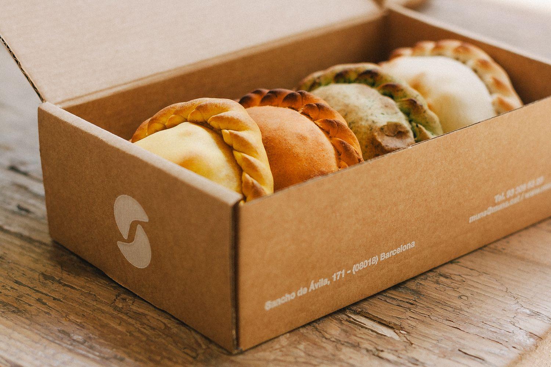 Welcome Empanadas Food Packaging Bread Packaging