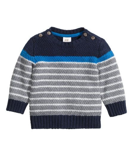 fdd7266371 H&M Knit Baby Sweaters, Boys Sweaters, Cable Sweater, Baby Boy Knitting,  Knitting