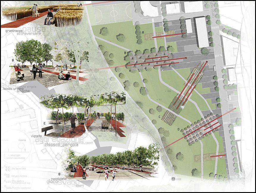 Sabstudio concorso di progettazione parco urbano for Progettazione di architettura online