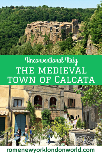 Unconventional Italy: the medieval town of Calcata #travel