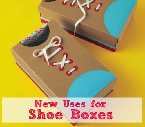 30 Shoe Box Craft Ideas: Six On Saturday: New Uses For Shoe Boxes