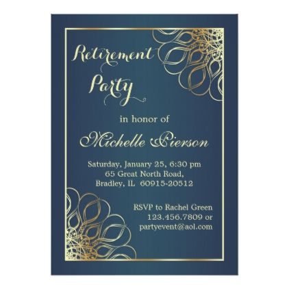 Colorful Teachers Apple Retirement Party Invitation Card