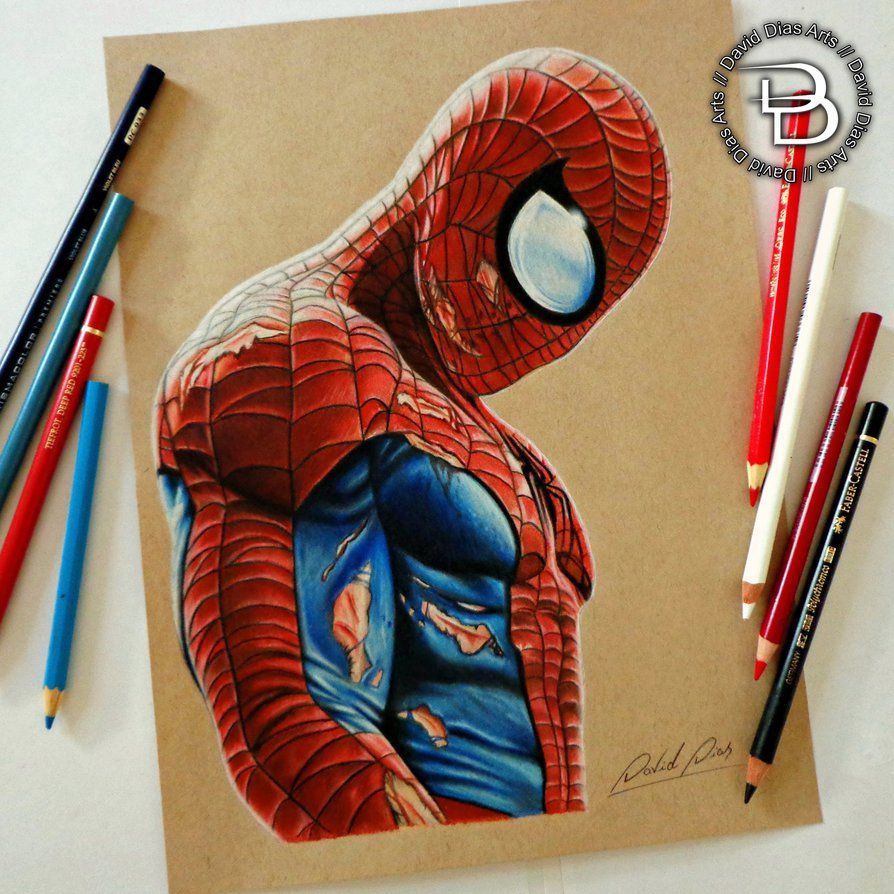 Spider Man By Daviddiaspr Marvel Drawings Spiderman Art