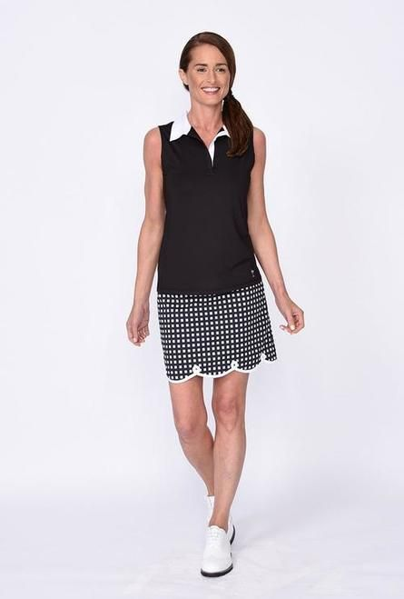 Golftini The Ace Stretch Cotton Scalloped Golf Skort Reg. (17.5) #golfhumor