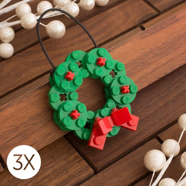 Every Christmas tree deserves one of these Lego ornaments ...