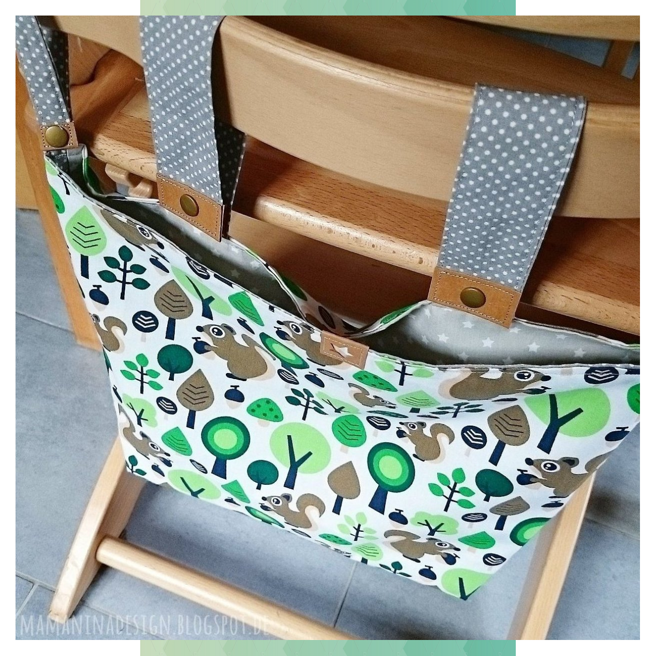 Finally a tutorial on the playpen bag and a mini version