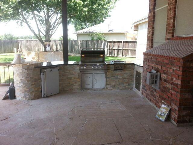 Outdoor Kitchens Houston Tx