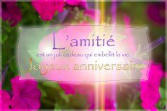 Cartes Virtuelles Courage Ondes Positives Joliecarte Joyeux Anniversaire Mon Amie Joyeuse Anniversaire Carte Anniversaire