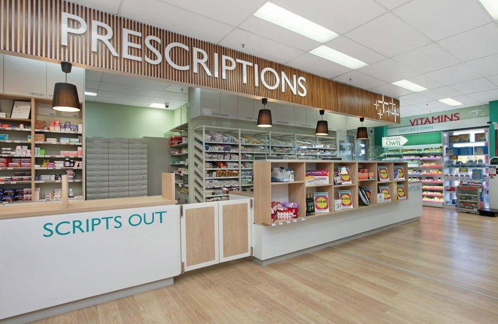 Barone Pharmacy With Images Pharmacy Design Hospital Interior