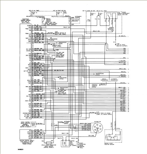 17 93 Ford F150 302 Engine Overdrive Wire Diagram To Transmission