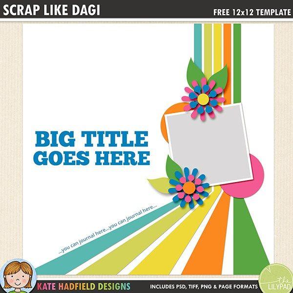 479 best free digital scrapbook templates images on pinterest