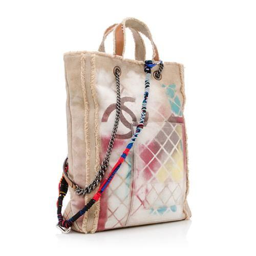 672efb533a618c Chanel Limited Edition Canvas Graffiti Etoile Large Tote | Chanel Handbags  - Bag Borrow or Steal