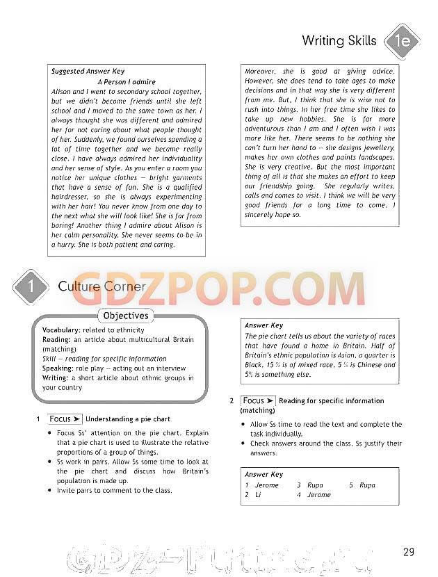 Ключи к учебнику английского языка spotlight 11 класс
