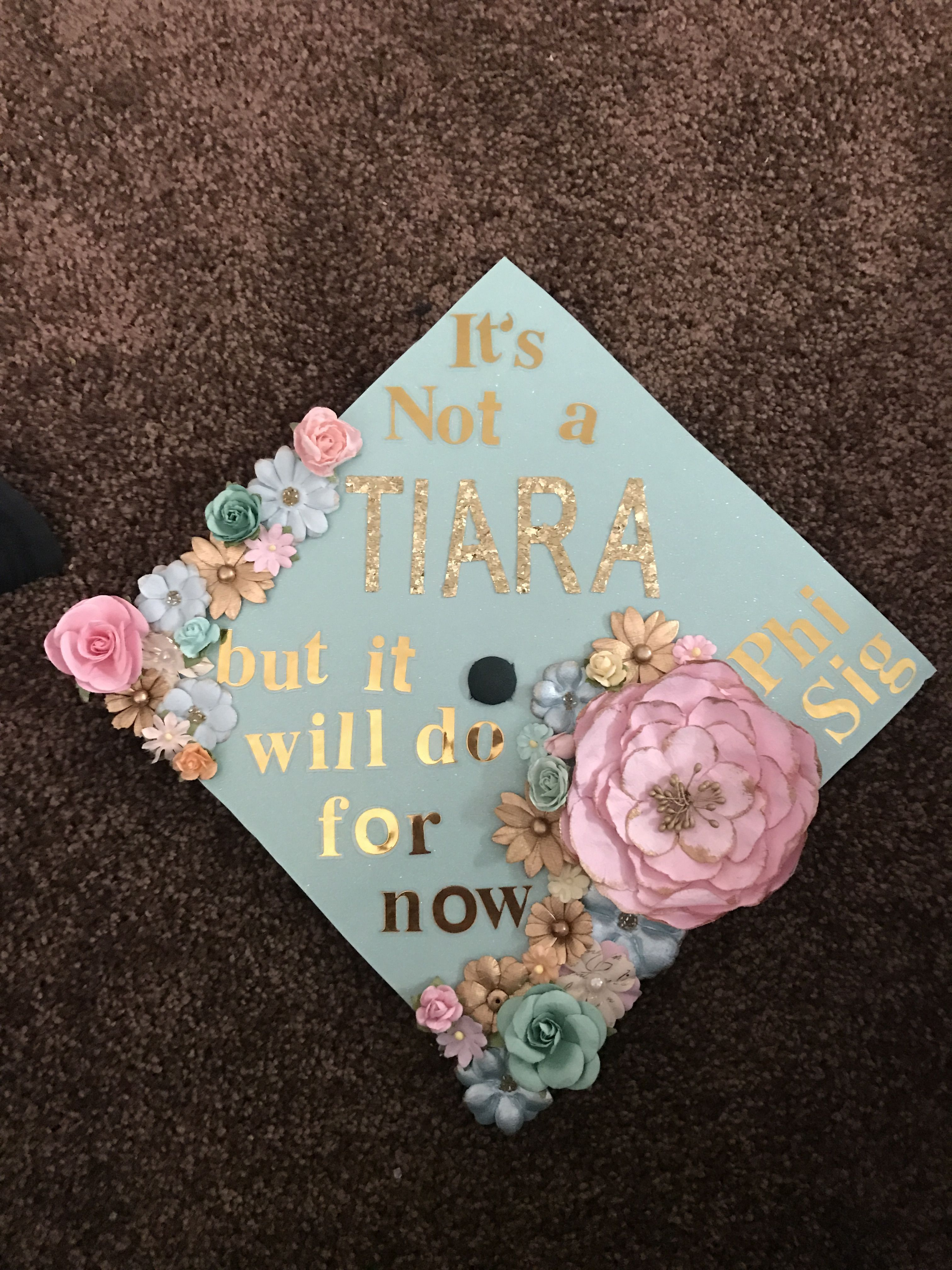 12 Graduation Cap Decoration Flowers Party Ideas  Decoración de