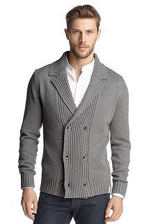 knit cotton jacket