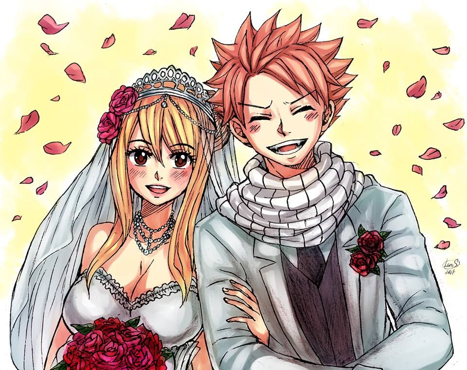 Fairy Tail - Natsu Dragneel and Lucy Heartfilia Ultimate ...
