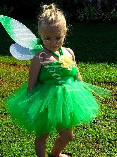 TUTU decorator does cute princess tutus (@Marianne Burchard Design, Tinker Bell costume for Marley!)