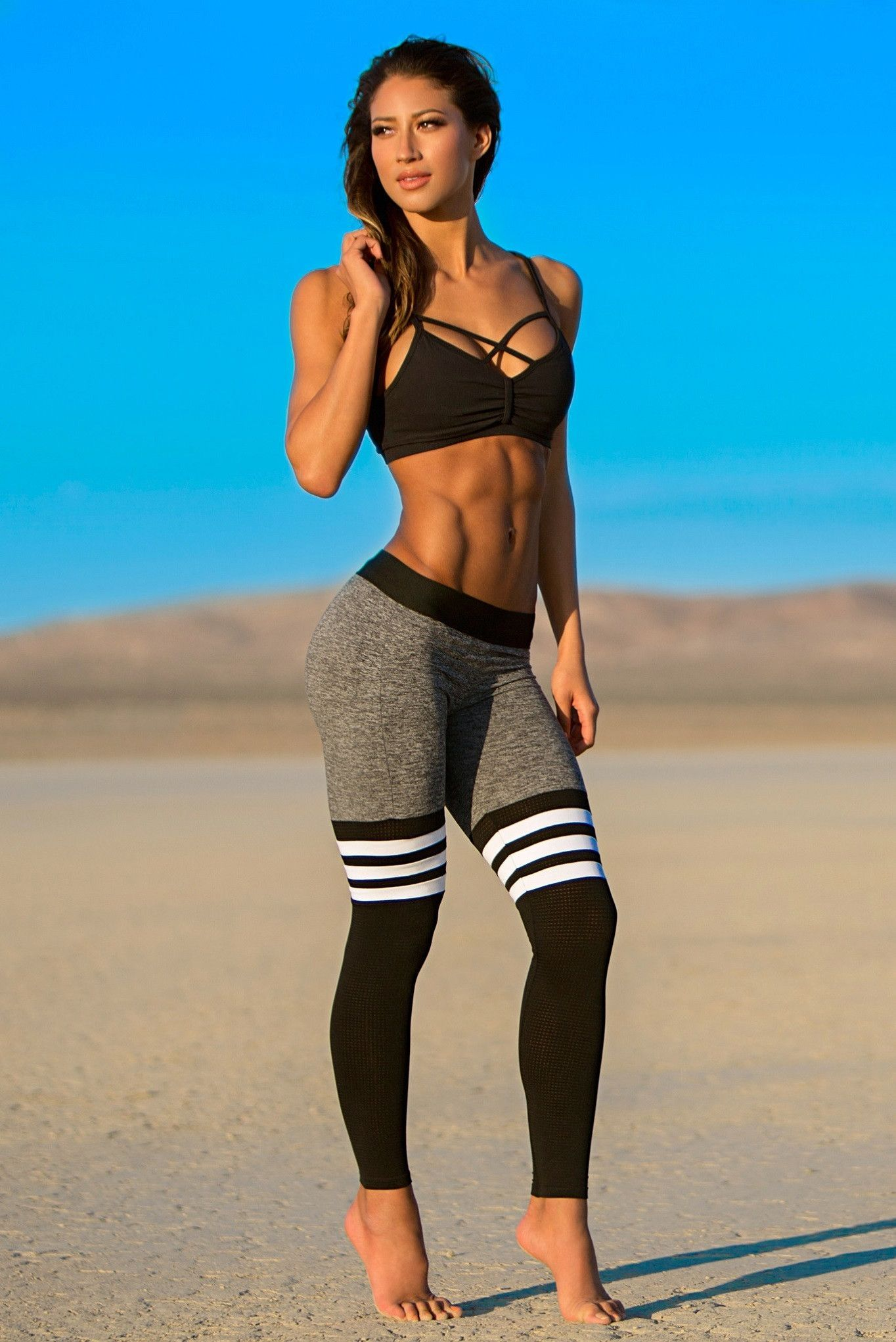 99d11b8d1add50 Why workout in boring old gym clothes when you can workout in these stylish Bombshell  Leggings. These leggings will make you want to be more active than ...