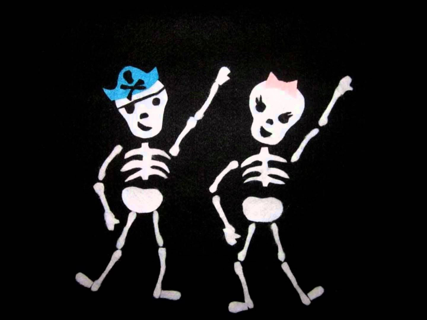 Dem Bones A Halloween Song You Can Get Up And Shake Your Bones