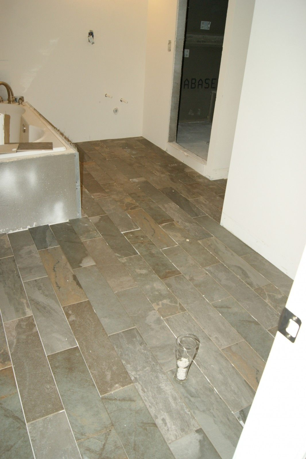 Bathroom floors grout tile flooring and bath ideas bathroom floors restroom remodelremoving grout from tilehow doublecrazyfo Images