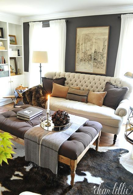 Dear Lillie A Little Fall Tour And A Homegoods Gift Card Giveaway Custom Little Living Room Design Decorating Inspiration