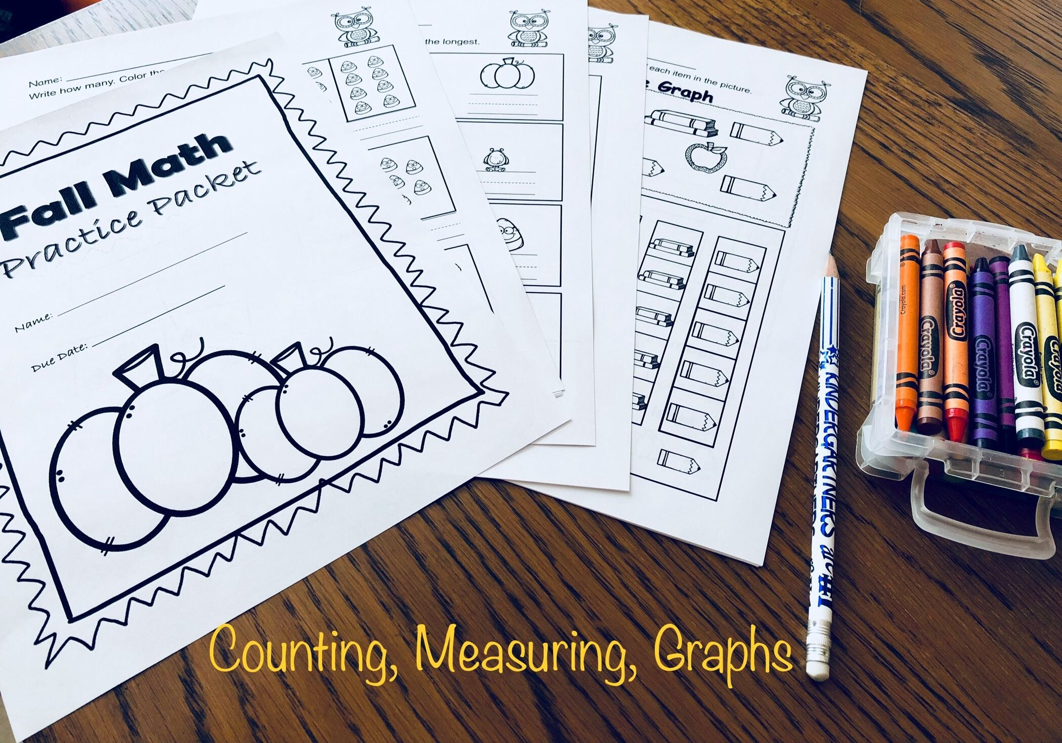 Measurement Counting Graphs