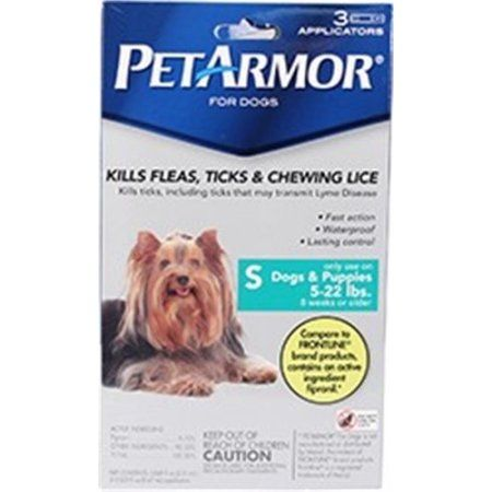 Petarmor Flea Tick Protection For Dogs Up To 22 Lbs 3 Month Supply Tick Treatment For Dogs Tick Repellent Dogs And Puppies