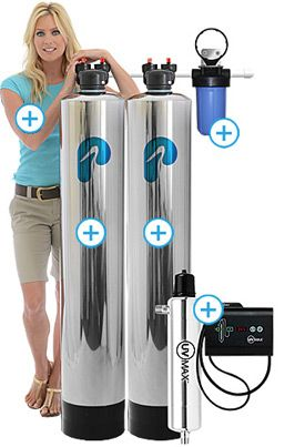 Water Softener Water Filter Combination Systems Pelican Water
