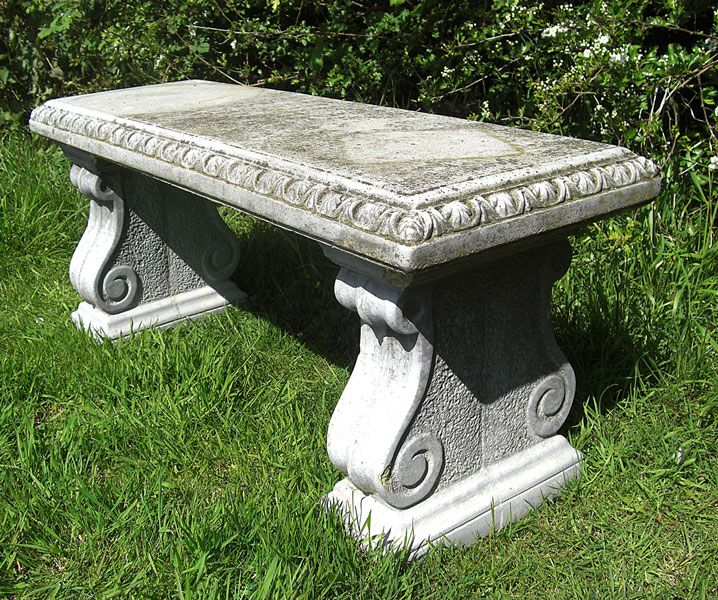 Awesome Stone Garden Bench Google Search Stone Bench Stone Machost Co Dining Chair Design Ideas Machostcouk