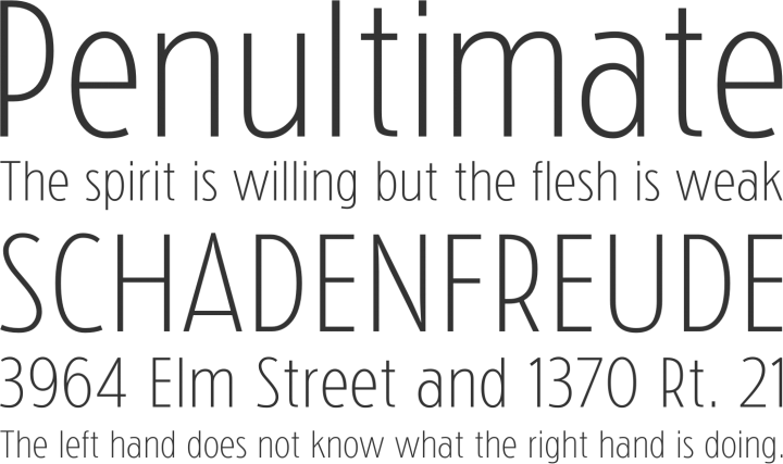 Choice 1 for fonts