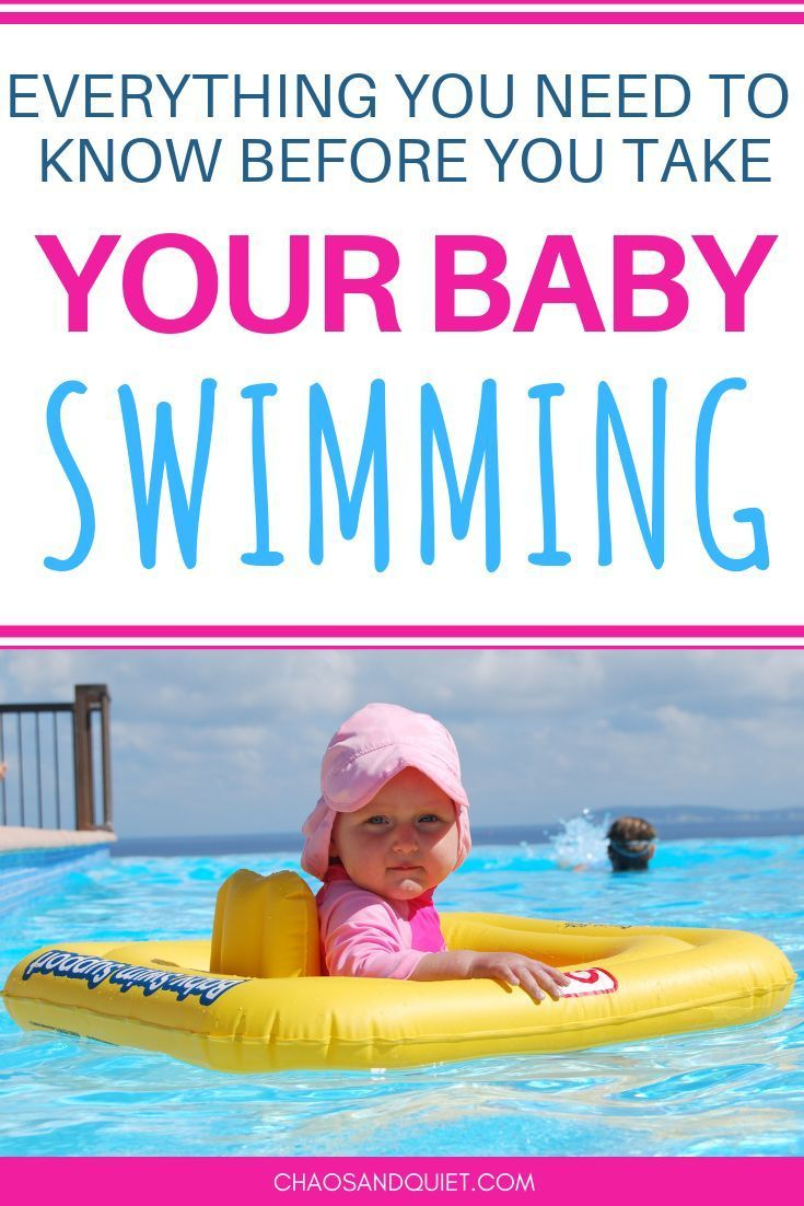 Everything You Need To Know About Taking Your Baby Swimming -