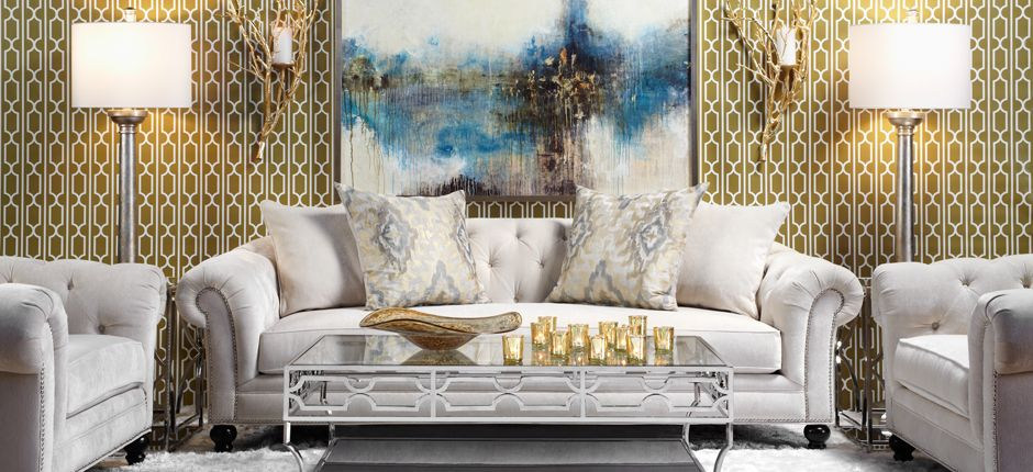 Updated elegance. #ZGallerie #LivingRooms | Living room ...