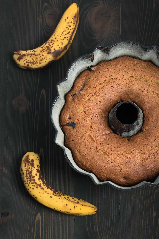 Banana Blueberry Coconut Bread