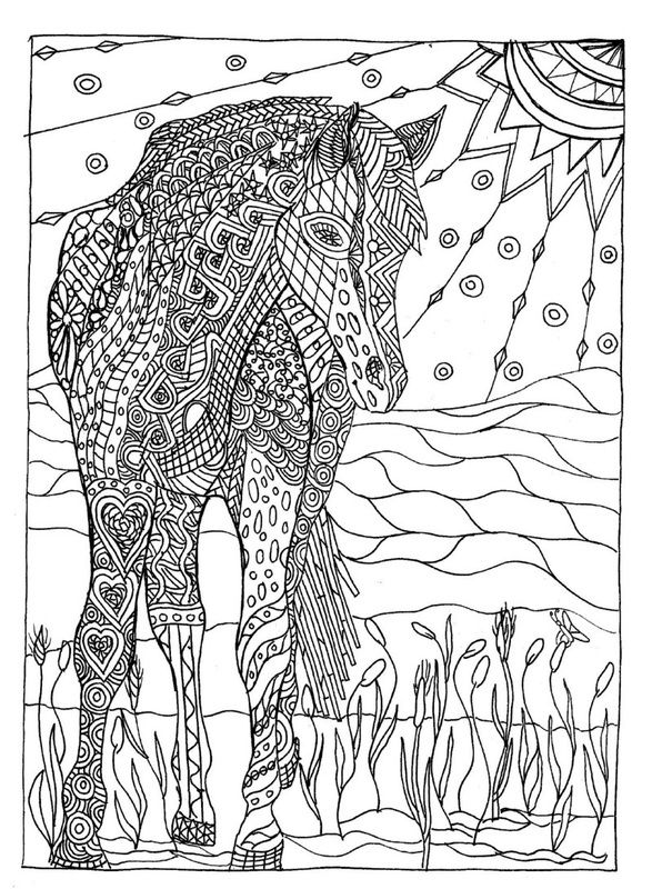 Lions Art Therapy Coloring Pages
