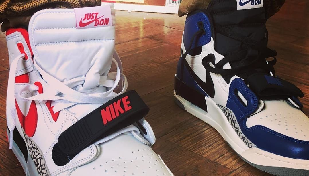 separation shoes 66a30 24d0f Don C x Jordan Legacy 312 Release Date   Sole Collector