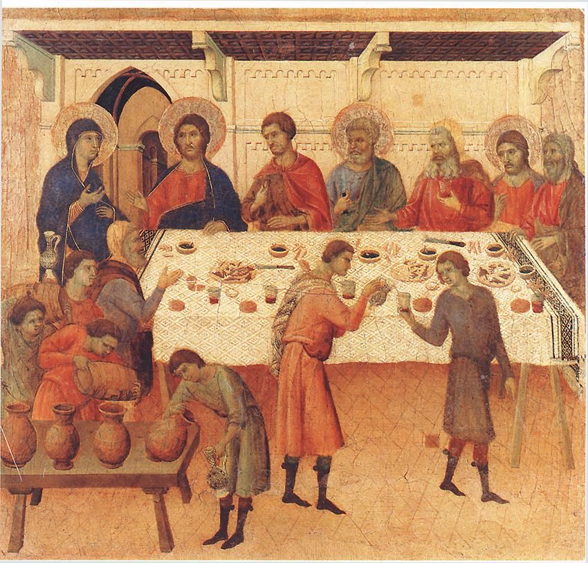 The Wedding Feast At Cana Large Painting Painting History Painting