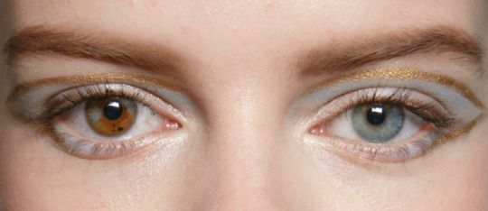 Make-up at Armani Prive Haute Couture Spring 2015