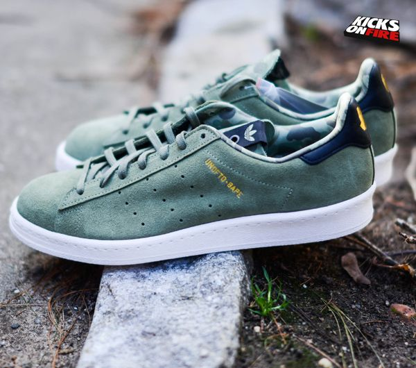 huge selection of 1861d 7e699 Bape x UNDFTD x adidas Originals Campus – Olive KicksOnFire.com ...