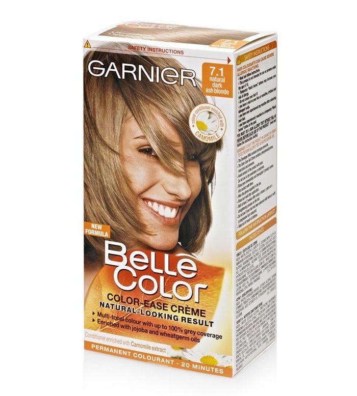 Garnier Dark Ash Blonde Hair Color Dark Ash Blonde Dark Ash