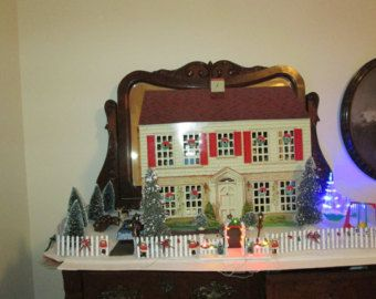 Popular items for christmas dollhouse on Etsy