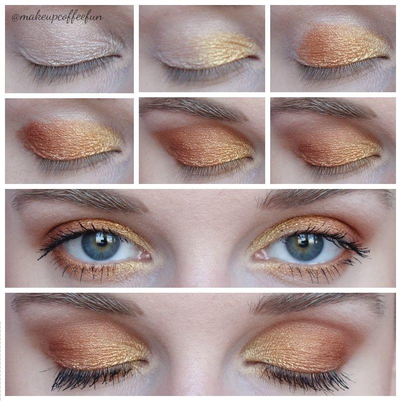 3 Looks ft. Zoeva Caramel Melange Palette Makijaż