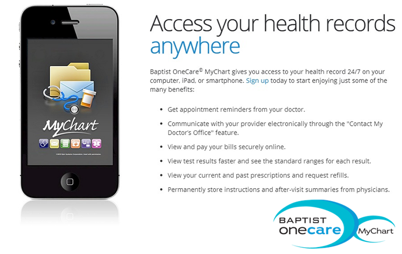 We are putting your health care in your hands! Sign up for