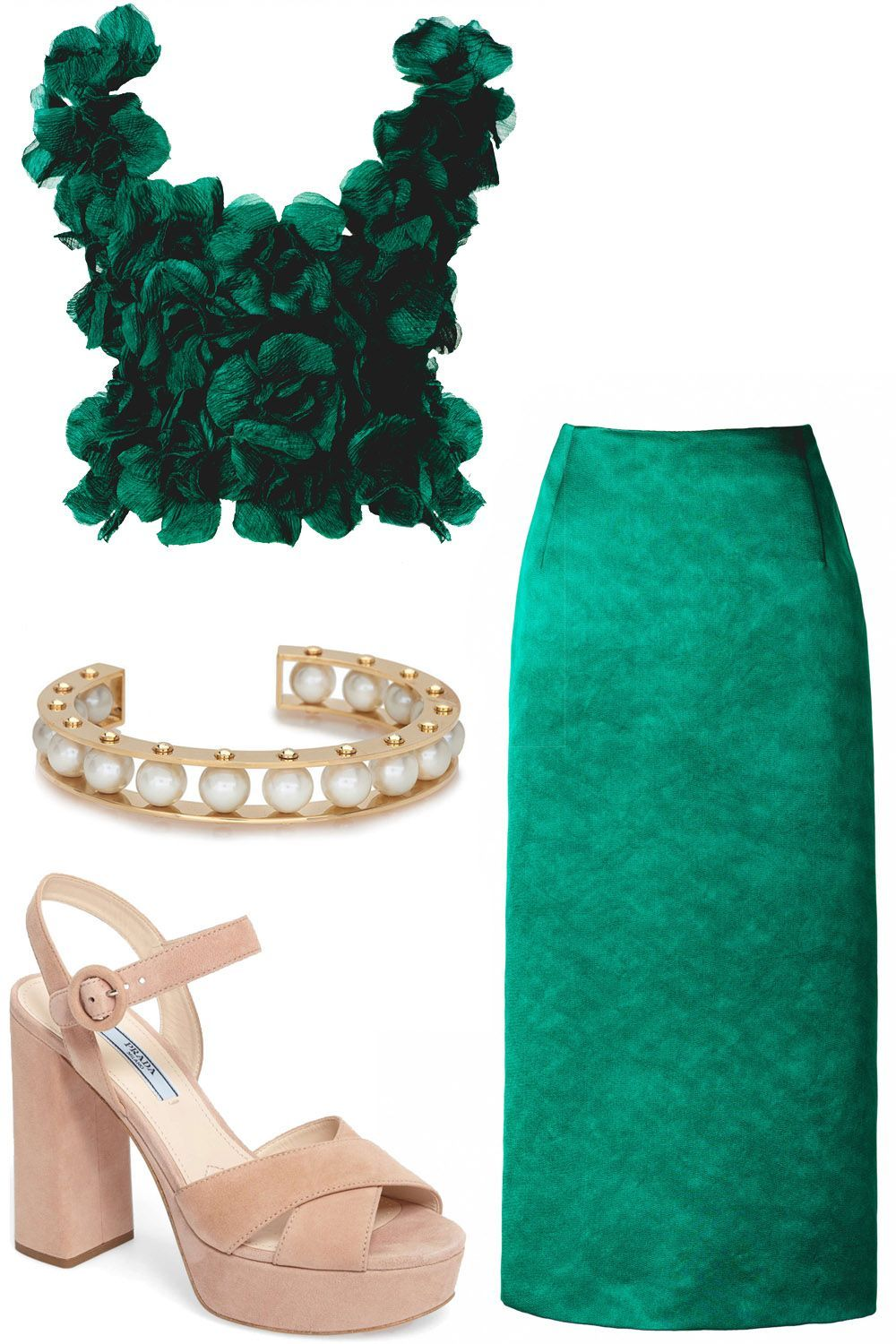 Best dressed guest the winter weddings edit green goddess