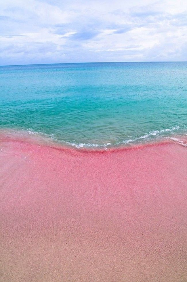 12 Totally Unique Kinds Of Beaches You Probably Never Knew Existed Beauty Pinterest Pink Sand Beach And Places