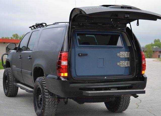 Armoured Suburban Presidential 02 (full safety cell ...