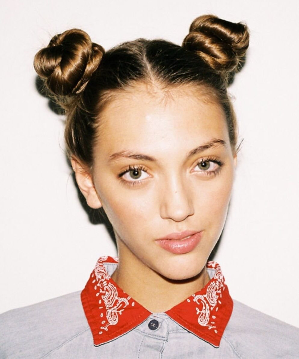 Two top knots.                                                       …