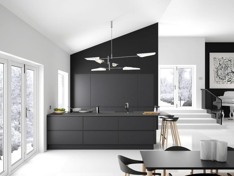Best New York Matt Anthracite Handleless Kitchen 400 x 300