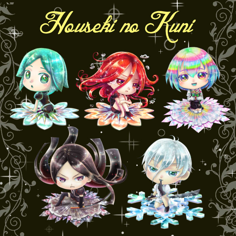 Houseki no Kuni Keychain Indie brands, Stuff to buy