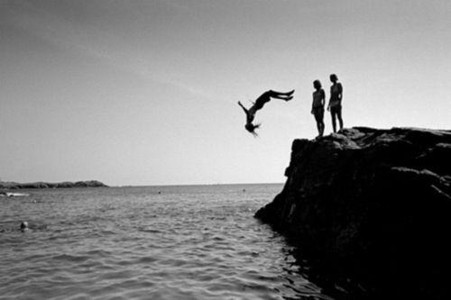 Black & White beach photography