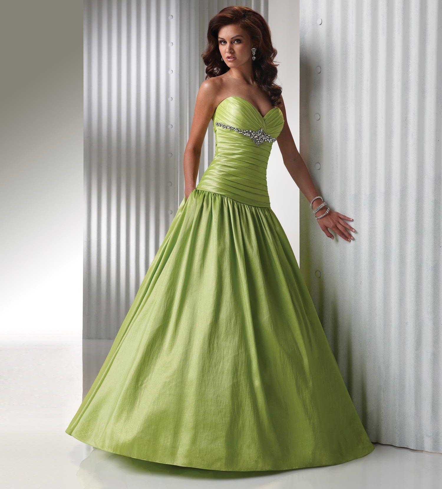 Dresses, Prom Dresses, Green